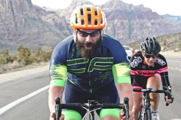 Playboy Dan Bilzerian confounded the skeptics by cycling from Las Vegas to the Hollywood Hills in just 33 hours, winning $600,000 in the process. (Image: Gene Freeman/NYPost)
