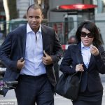 "Phil Ivey and ""Kelly"" Cheng Yin Sun, seen here leaving court, said they believe that each and every game they played at the Borgata in 2012 was a legal and valid game of chance.  (Image: Gavin Rodgers/Pixel)"