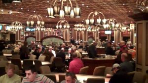 Bellagio Las Vegas poker rooms.