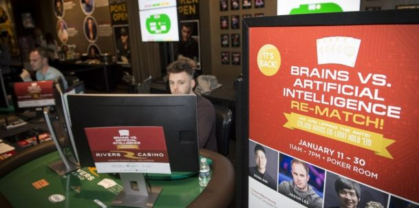 Libratus beats poker pros $1.8 million