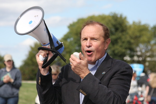 Ray Lesniak New Jersey governor.