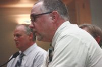 Math teacher David Schick at Washington State online poker hearing