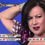 Jennifer Tilly is the chip leader heading into Day Three at the Aussie Millions Main Event. (Image: YouTube)