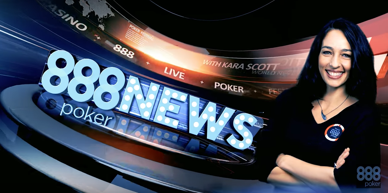 Hostess Extraordinaire Kara Scott to Spearhead Monthly 888poker News Show