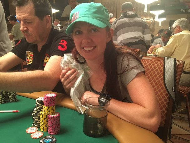 Jacki Burkhart CardsChat team event 2016