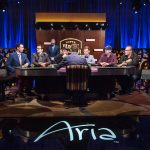 The 2016 Super High Roller Bowl final table at ARIA in Las Vegas. (Image c/o Poker Central)