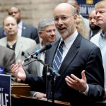 Pennsylvania Gov. Tom Wolf added another $150 million in revenue from gaming expansion in his budget proposal for 2017-18, in anticipation of an online gambling bill getting passed. (Image: AP Photo)