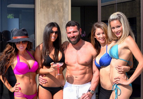 "Dan Bilzerian Claims That ""Women Can't Play Poker,"" Predicts Mike Dentale Victory Over Cate Hall"