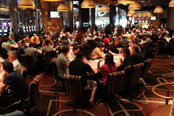 Nevada poker rooms