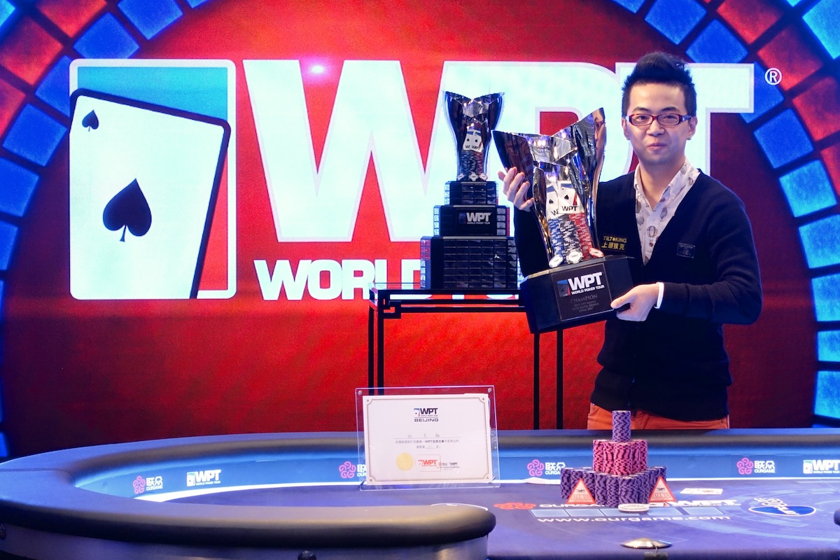 Pete Chen Wins WPT Beijing for $299,485 to Kick Off 16th Season of World Poker Tour