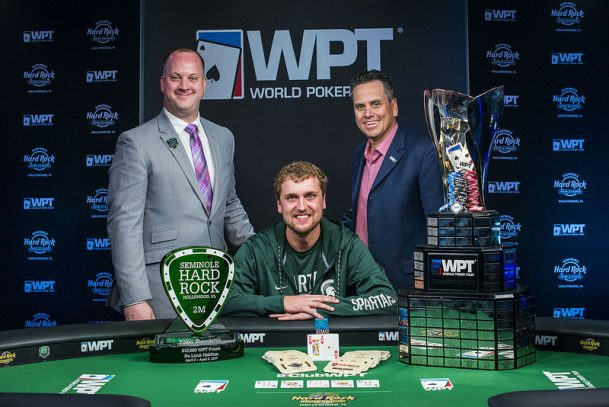 Ryan Riess SHRP Open 2017 WPT champion
