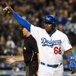 Outfielder Yasiel Puig will host a charity poker tournament on May 22 at Dodger Stadium to benefit his own charitable foundation that supports kids. (Image: cbssports.com)