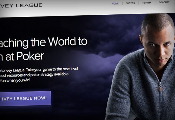 Ivey League Poker Training Site to Stop Producing New Content