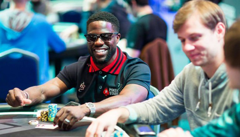 Kevin Hart Super High Roller Bowl 2017 Day One