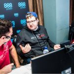 "Players like Parker ""888tonkaaaa"" Talbot and Doug ""DougPolkPKR"" Polk streamed their action on Twitch throughout the 888poker XL Inferno Championships. (Image: 888poker)"