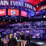 The WSOP has announced that ESPN will televise the Main Event (seen here in 2015) live starting on Day One. (Image: espnfrontrow.com)