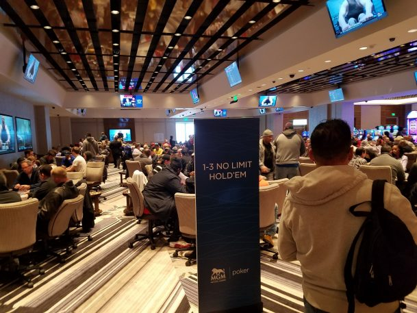MGM National Harbor Poker Room Remains Active