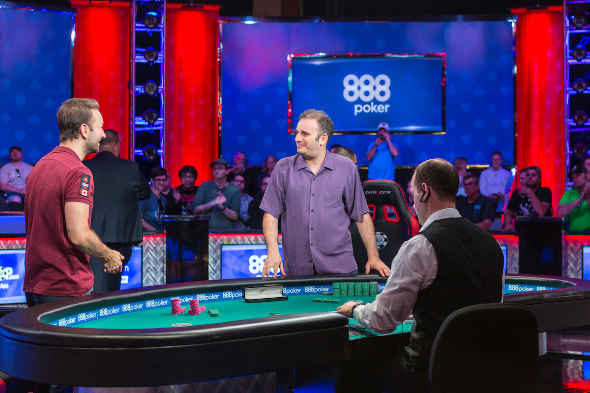Abe Mosseri beats Daniel Negreanu in Event #9, $10,000 Omaha Hi-Lo 8 or Better Championship