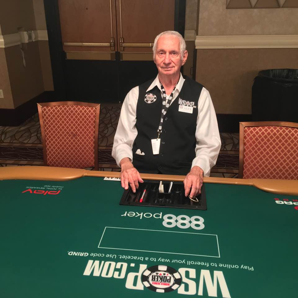 Alex Christoff, 42 years dealing WSOP