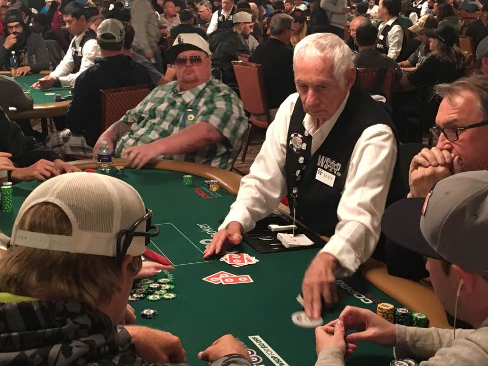 Alex Christoff Still Dealing After All these years WSOP 2017
