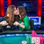Forget wedding bands, poker couple Igor Kurganov and Liv Boeree capture gold bracelets in WSOP Team Event. (Image: Joe Giron/pokerphotoarchive.com)