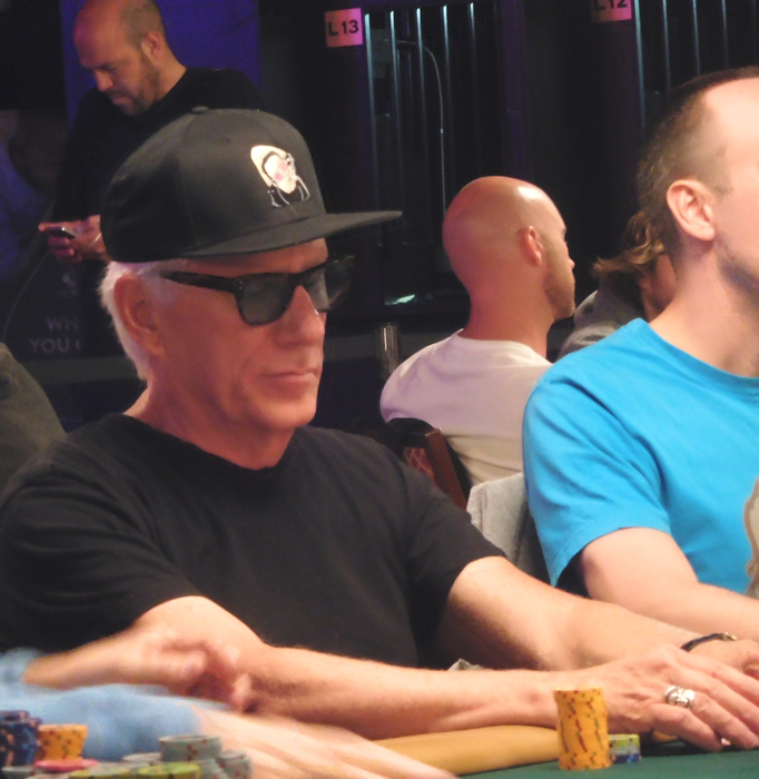 Actor James Woods on poker