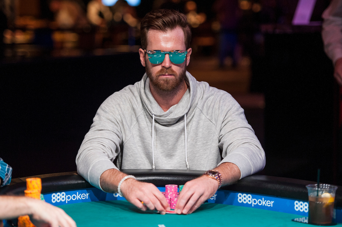 John Racener, winner of $10,000 Dealer's Choice 6-Handed Championship
