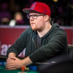 Chris Brammer won the $5,000 NLH event with 30-minute levels, meaning final table play consisted of sizing up your opponents, looking at your cards, then deciding all-in or fold. (Image: Drew Amato / PokerPhotoArchive.com)
