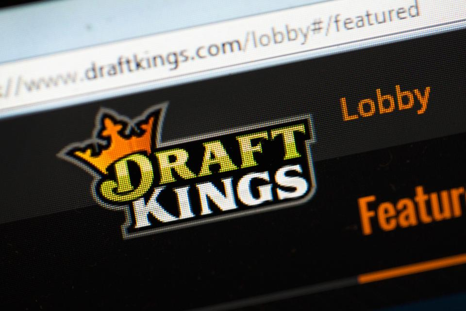 Draft Kings DFS page