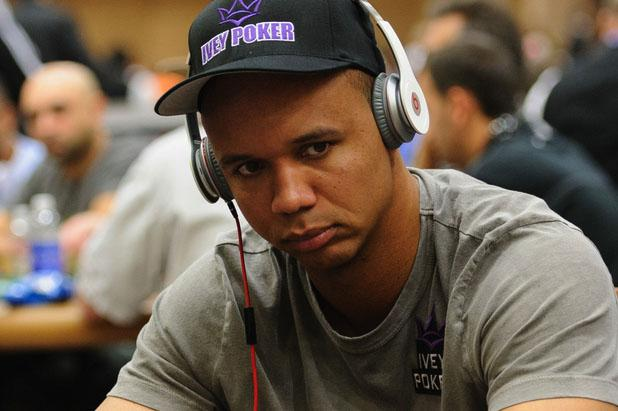 Phil Ivey possible Hall of Famer playing poker.