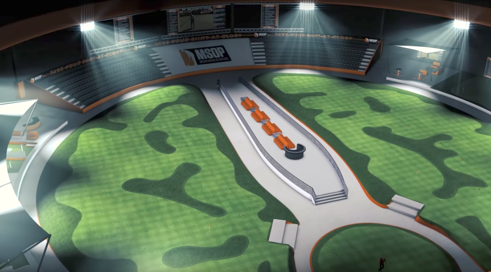 Major Series of Putting Stadium in Las Vegas
