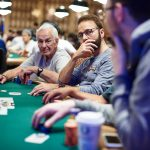 Daniel Negreanu went to the rails in the 2017 WSOP Main Event when his pocket sevens lost to a runner-runner four-card flush for opponent _____(Image: Antonio Abrego/pokerphotoarchive.com)