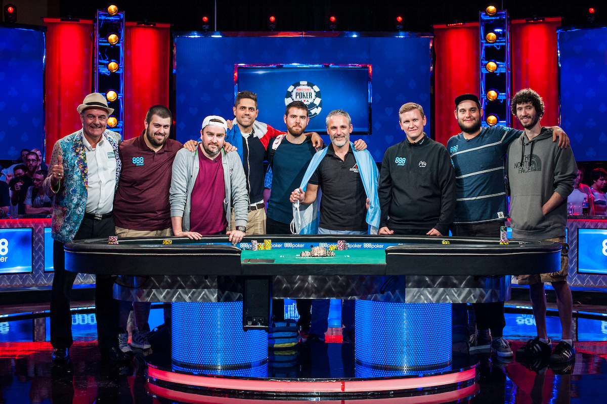 2017 WSOP Main Event Final Table