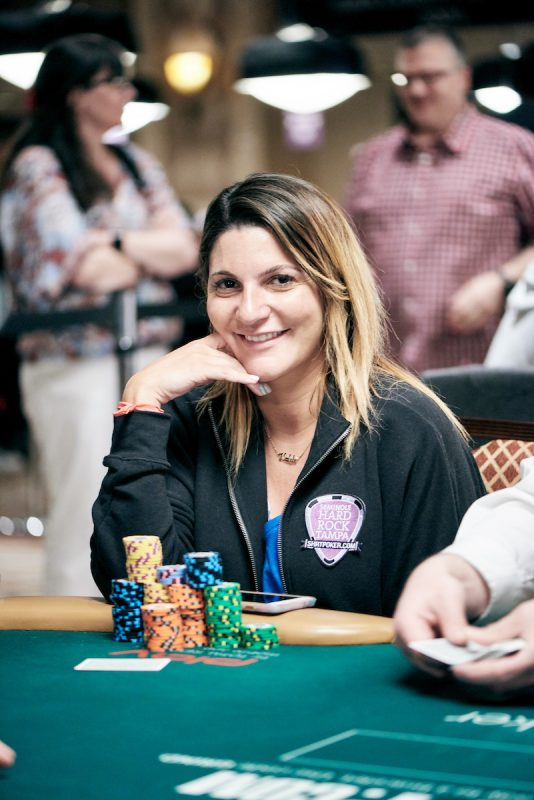 2017 WSOP Main Event Natasha Mercier