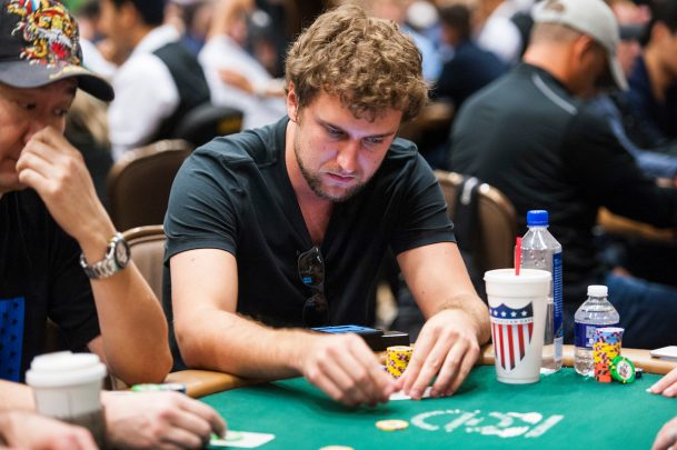 Ryan Riess WSOP 2017 Main Event Day One