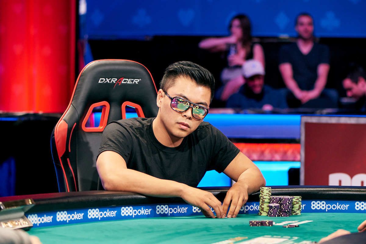 Tommy Le at the WSOP