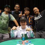 At North Carolina Harrah's Cherokee, Four Los Angeles Poker Buddies Cash Big and Win Bling