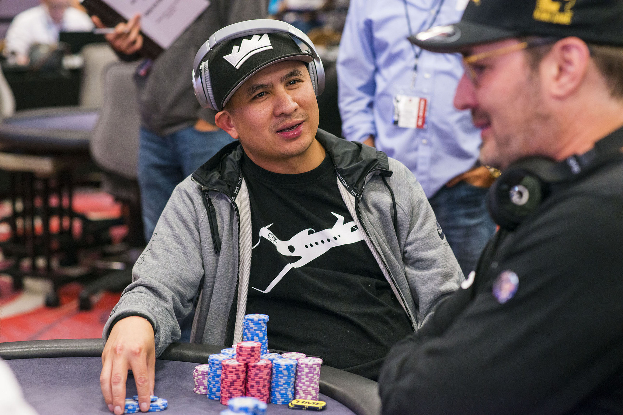 Phil Hellmuth vs. JC Tran at WPT Legends of Poker