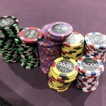 Seven Magic Mountains: Daniel Negreanu artfully displays his starting stack on Twitter, ready for the relaunch of Poker After Dark. (Image: Twitter)