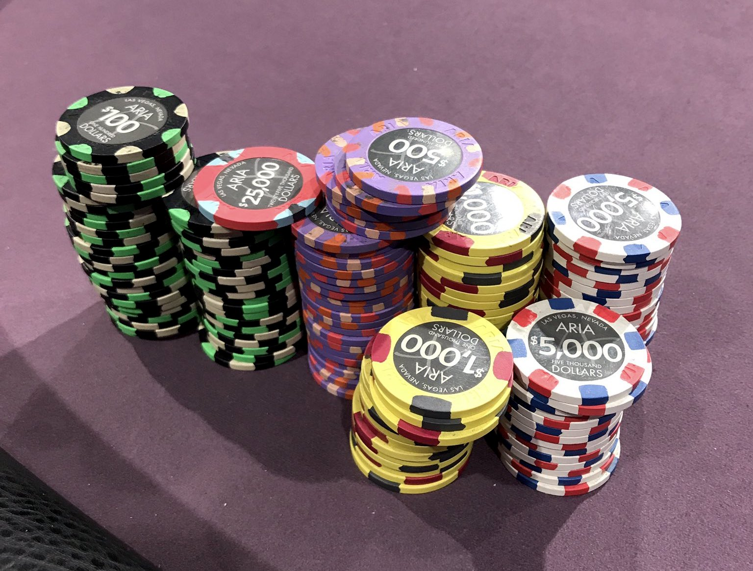 Negreanu's starting stack for Poker After Dark