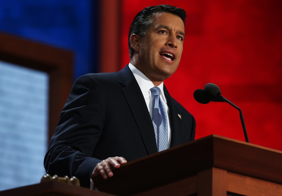 Brian Sandoval Nevada casinos and Marijuana industry