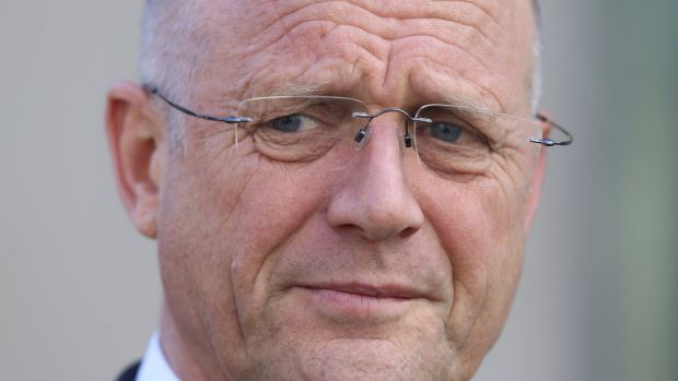 Sen. David Leyonhjelm, champion of online poker in Australia