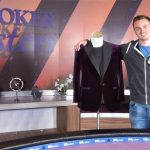Steffen Sontheimer is ready to hit the town with his new Purple Jacket and more than $2.7 million won at the 2017 Poker Masters. (Image: Poker Central)