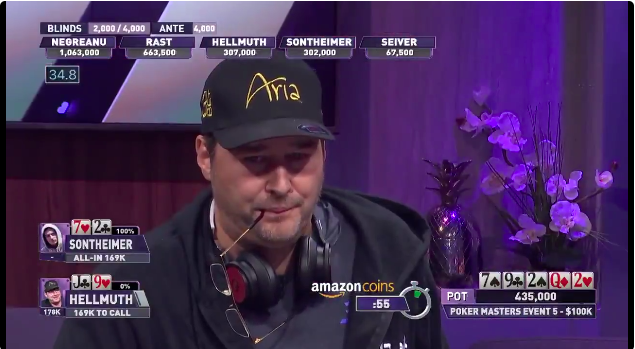 Phil Hellmuth Poker Masters