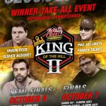 Heads-Up for King of the Hill II: Hellmuth vs. 'Tonkaaaa,' Busquet vs. Deeb