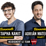 French site Winamax is pinning its expansion hopes on Mustapha Kanit and Adrian Mateos, neither of who are over 26 years old. (Image: Winamax)