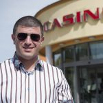 Leon Tsoukernik stands outside his Kings Casino in Rozvadov in the Czech Republic, which will host next week's WSOP Europe. (Image: Zeitenspeigel.de)