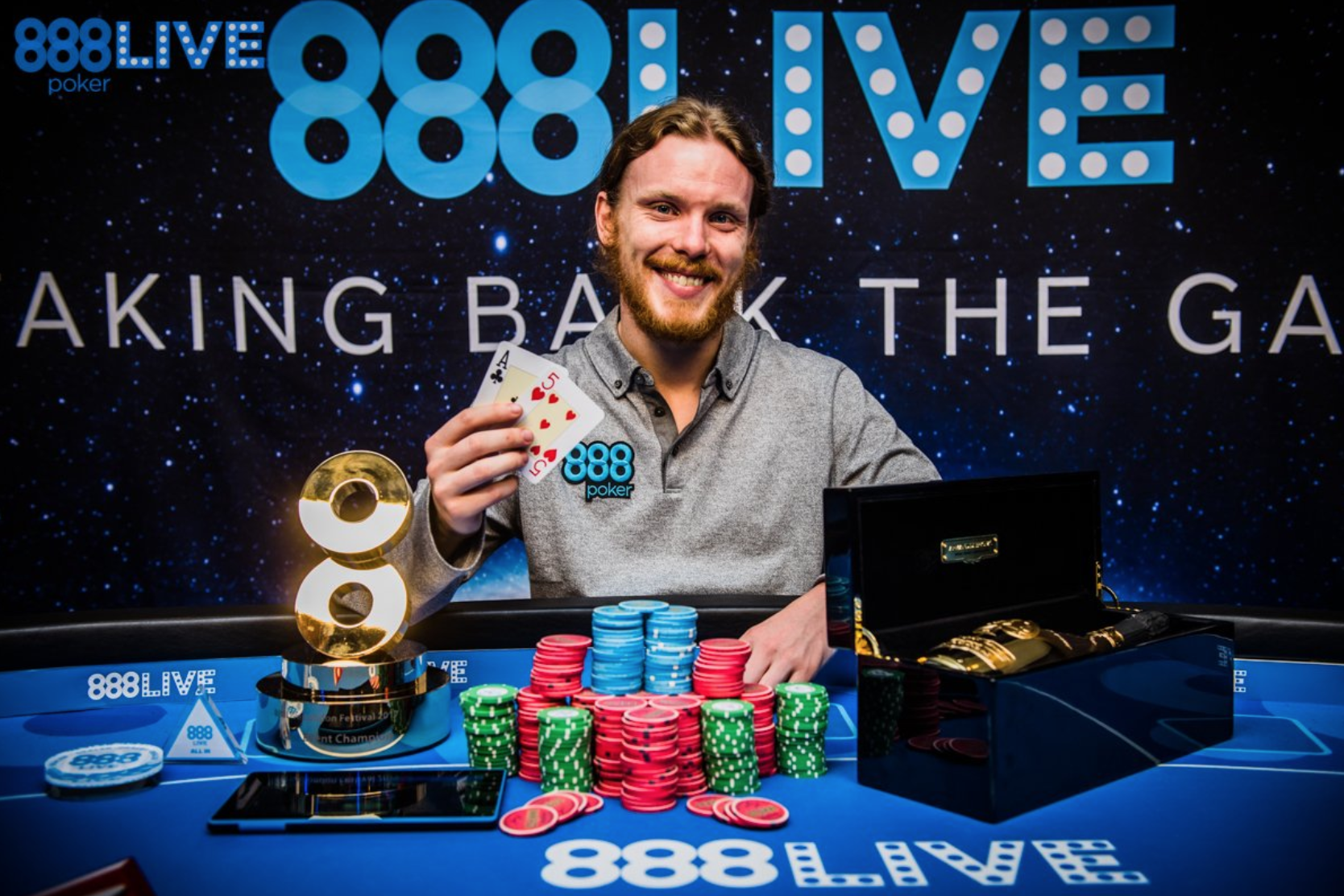 Player to Watch: Tom Hall Books Third Win in 11 Months, Taking Down 888Live London Main Event for $104K