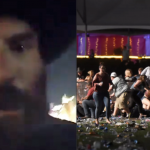High-stakes poker pro Dan Bilzerian got an up close and scary view of the mass shooting at Las Vegas, and posted video of the mayhem he was witnessing on Snapchat and Instagram. (Image: Unilad.co.uk)