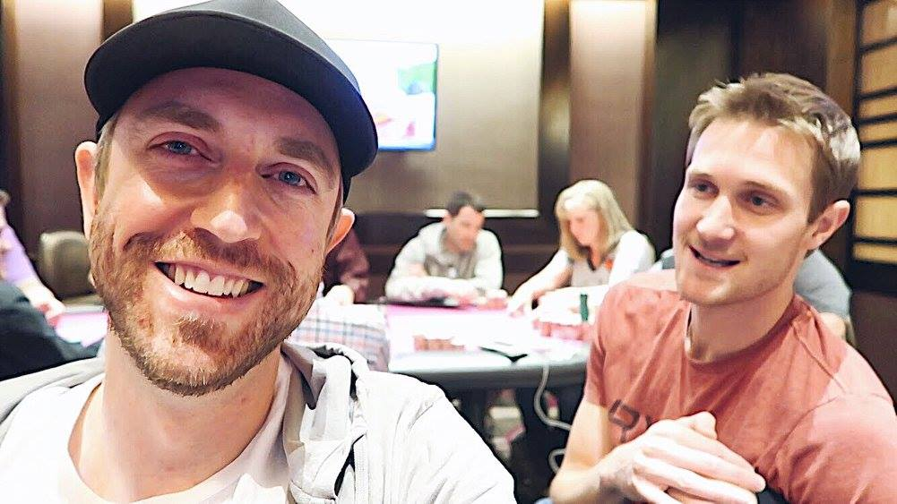 Poker Vloggers Andrew Neeme and Brad Owen Turn Meet-Up Game into Vegas Victims Relief